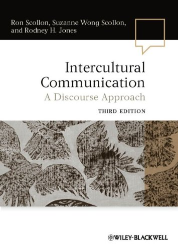 Intercultural Communication A Discourse Approach 3rd 2012 edition cover