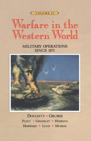 Warfare in the Western World Military Operations since 1871  1996 edition cover