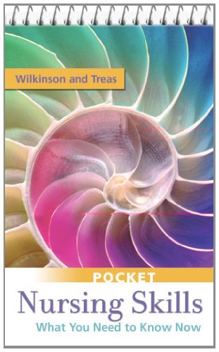 Pocket Nursing Skills What You Need to Know Now  2011 edition cover