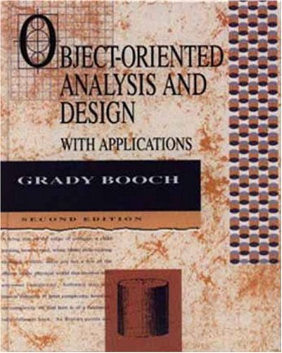 Object-Oriented Analysis and Design with Applications  2nd 1994 (Revised) edition cover