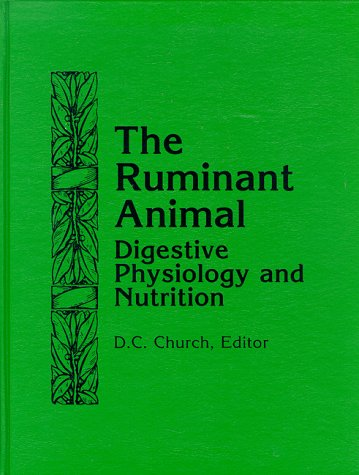 Ruminant Animal Digestive Physiology and Nutrition Reprint edition cover