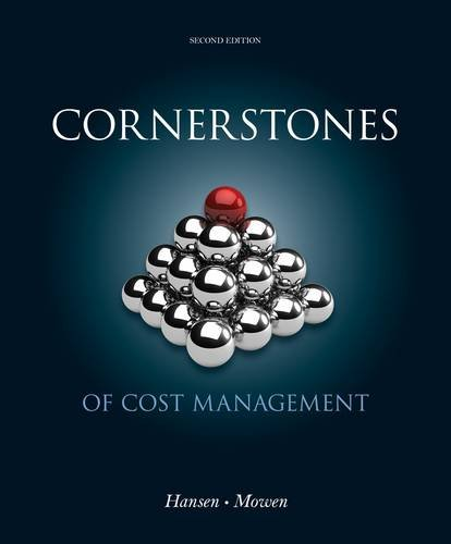 Cost Management  2nd 2013 edition cover