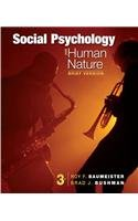 Social Psychology and Human Nature:   2013 edition cover