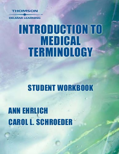 Introduction to Medical Terminology   2004 9781401811402 Front Cover