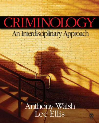 Criminology An Interdisciplinary Approach  2007 edition cover