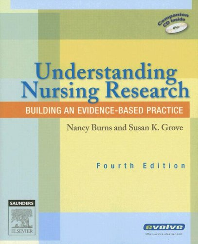 Understanding Nursing Research Building an Evidence-Based Practice 4th 2006 (Revised) edition cover