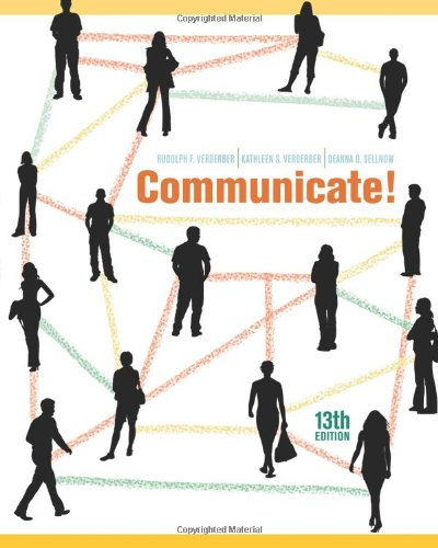 Communicate!  13th 2011 edition cover