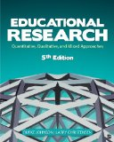 Educational Research Quantitative, Qualitative, and Mixed Approaches 5th 2014 edition cover