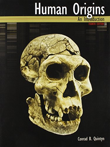 Human Origins: An Introduction  2014 edition cover