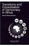 Transitions and Consolidation of Democracy in Africa   2000 edition cover