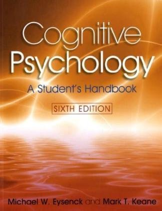 Cognitive Psychology  6th 2010 edition cover