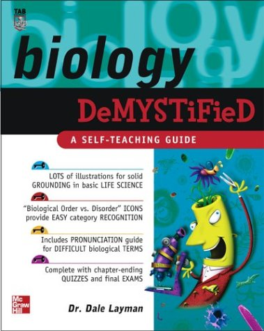 Biology Demystified   2003 edition cover
