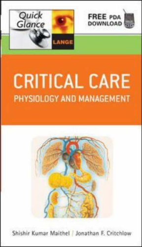 Critical Care Physiology and Management  2006 9780071465403 Front Cover
