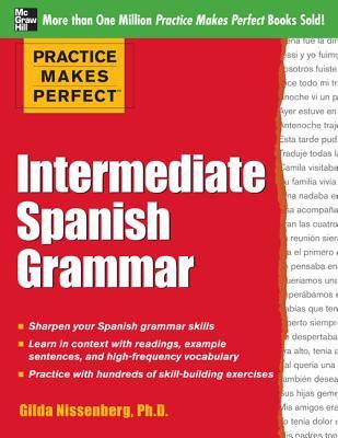 Intermediate Spanish Grammar   2013 edition cover