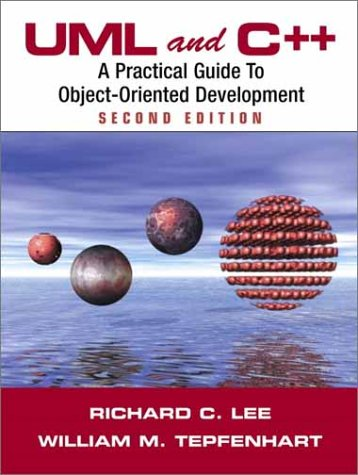 UML and C++ A Practical Guide to Object-Oriented Development 2nd 2001 (Revised) edition cover
