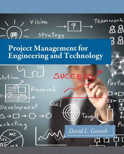 Project Management for Engineering and Technology   2015 edition cover