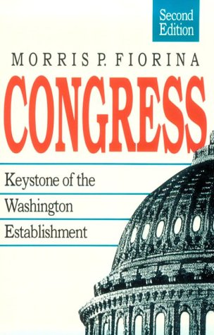 Congress Keystone of the Washington Establishment 2nd 1989 (Revised) edition cover
