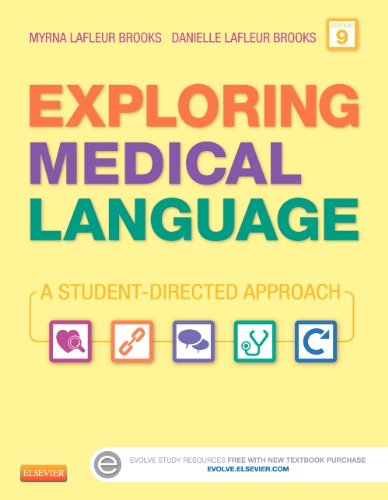 Exploring Medical Language A Student-Directed Approach 9th 2014 9780323113403 Front Cover