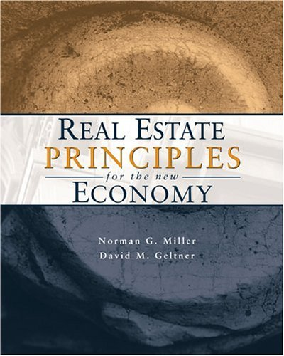 Real Estate Principles for the New Economy   2005 edition cover