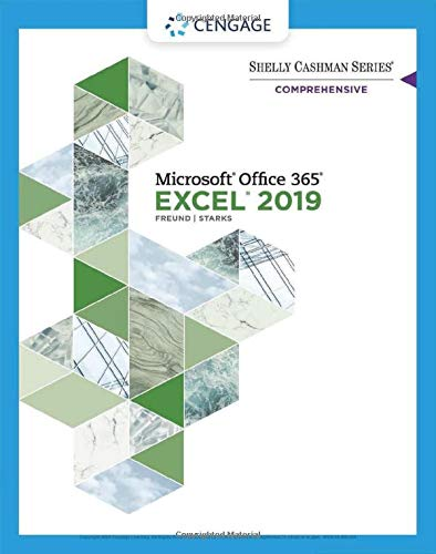 Shelly Cashman Series Microsoft Office 365 & Excel 2019 Comprehensive:   2019 9780357026403 Front Cover