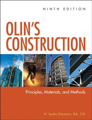 Olin's Construction Principles, Materials, and Methods 9th 2012 edition cover