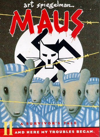 Maus I and II Paperback Box Set  N/A 9780679748403 Front Cover