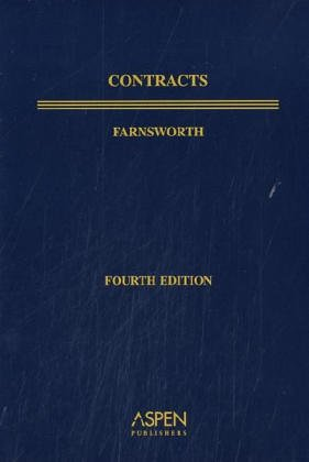 Contracts  4th 2004 (Student Manual, Study Guide, etc.) edition cover