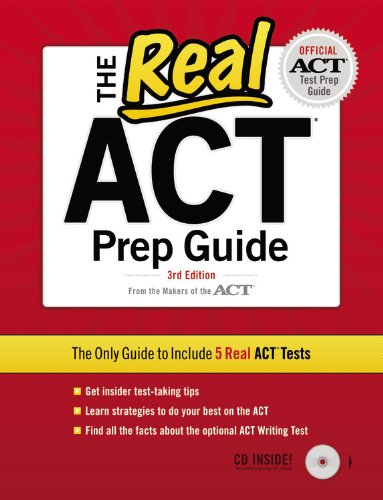 Real ACT  3rd 9780768934403 Front Cover
