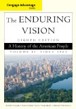 Enduring Vision A History of the American People since 1865 8th 2015 edition cover