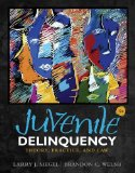Juvenile Delinquency: Theory, Practice, and Law  2014 9781285458403 Front Cover