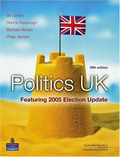 Politics UK Featuring 2005 Election 5th 2006 (Revised) 9781405832403 Front Cover