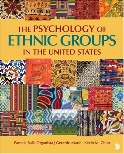 Psychology of Ethnic Groups in the United States   2010 edition cover