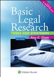 Basic Legal Research  6th 2015 edition cover