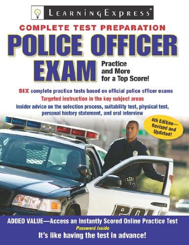Police Officer Exam  4th 2010 (Revised) edition cover