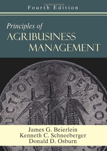 Principles of Agribusiness Management  4th 2008 edition cover