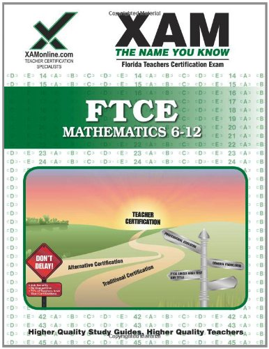 FTCE Mathematics 6-12   2008 edition cover