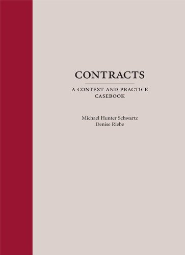 Contracts A Context and Practice Casebook  2009 9781594606403 Front Cover