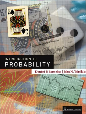 Introduction to Probability 1st 2002 edition cover