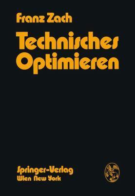 Technisches Optimieren   1974 9783709183403 Front Cover