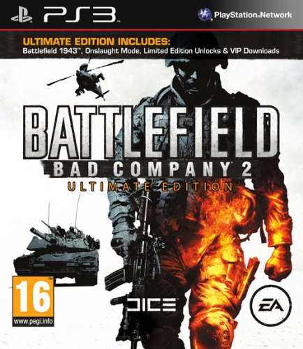Battlefield Bad Company 2 - Ultimate Edition (PS3) PlayStation 3 artwork