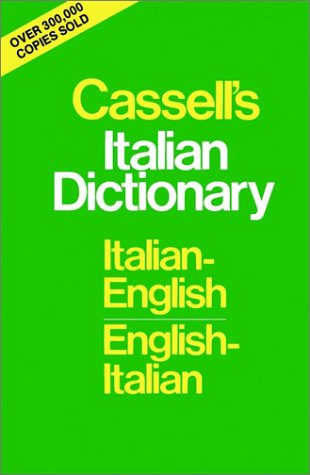 Cassell's Italian Dictionary   1958 edition cover