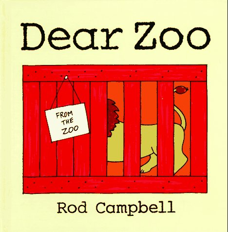 Dear Zoo   1986 9780027164404 Front Cover