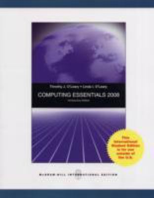 Computing Essentials 2008 N/A edition cover
