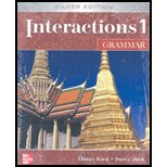 Interactions Level 1 Grammar  5th 2007 edition cover