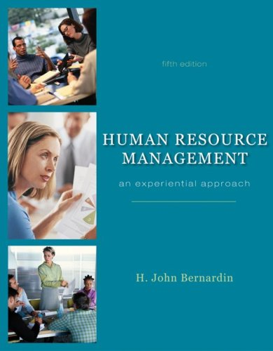 Human Resource Management with Premium Content Code Card  5th 2010 edition cover