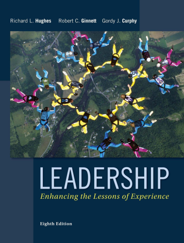 Leadership Enhancing the Lessons of Experience 8th 2015 9780077862404 Front Cover