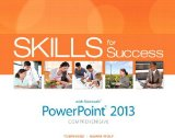 Skills for Success with PowerPoint 2013 Comprehensive   2014 9780133148404 Front Cover