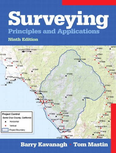 Surveying Principles and Applications 9th 2014 (Revised) edition cover