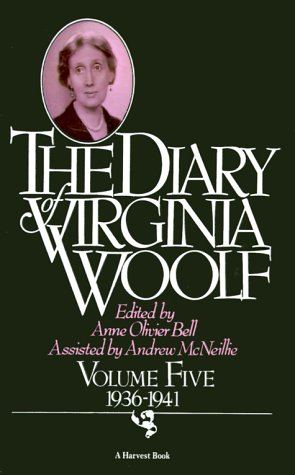 Diary of Virginia Woolf, 1936-1941   1985 edition cover