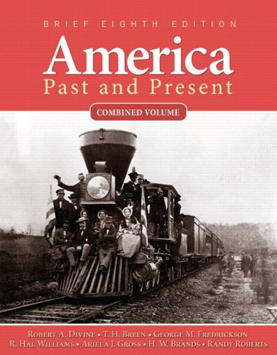 America Past and Present  8th 2011 9780205760404 Front Cover